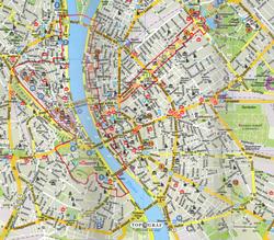 скачать карта будапешта с достопримечательностями на русском языке