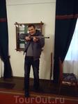 Настоящее древнее ружье