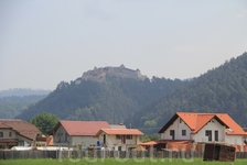 Рышнов. крепость является памятником всемирного наследия человечества Юнеско