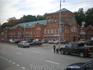Старинное здание на улице Большой Московской улице города Владимира