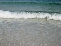 Чистая, прозрачная, теплая водичка - рай существует! Кстати, в море живет немало обитателей - мы видели кальмара, морскую звезду, рыбок и даже ската.. ...