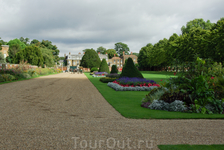 Hampton Court Palace. Парк.