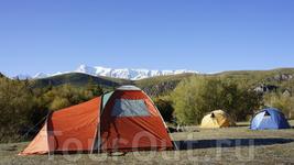 наш палаточный отель:)