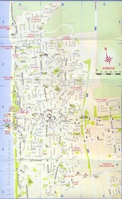 Карта Нетании