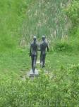 в парке у замка Олесько