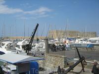 Форт, который оборонял порт Ираклиона.