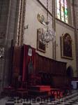 Перпиньян. Католический собор - место для Папы