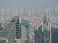 Шанхай с высоы птичьего полета