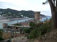 Тосса де Мар. Вид с крепости