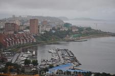 Бухта Федорова с яхтклубом Семь Футов