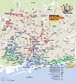Карта Барселоны На Русском Скачать - фото 11