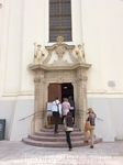 Вход в аббатство