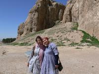 Я и Фатима. Наш гид и переводчик)