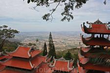 Вьетнам. Фантьет. Вид с горы Таку.