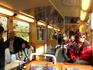 внутри трамвайчика