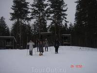 гонки на снегоступах