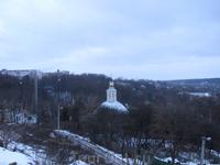 вид с обзорной площадки возле Успенского кафедрального собора