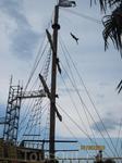 акваландия. корабль пиратов на котором проходят шоу