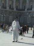 Мадрид. Живая статуя у Королевского дворца