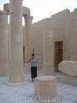 на территории Храма царицы Хатшепсут