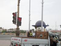 Один из 4-х светофоров в Хургаде