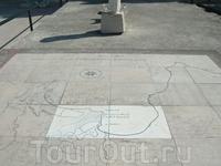 Карта Карфагена.