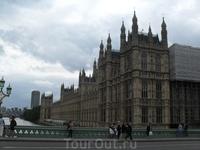 Вид на Парламент с моста