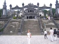 Лестница, ведующая во Дворец Тхайхоа.