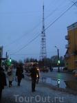 """Телевышка """"впихнута"""" в самый центр города"""