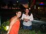 С Кариной в последний день отдыха
