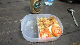 Обед после снорка на Ko Rawi