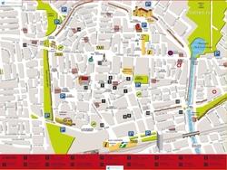 Карта города Римини