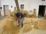 Албуфейра,скульптуры из песка