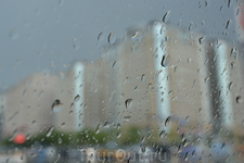 Дождь в Пекине