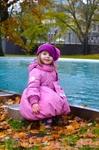 Вот такой декоративный прудик в парке , где мы здорово отдохнули!