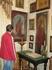 Иконы присутствуют практически в каждой комнате.
