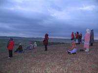 Встреча рассвета на горе Желаний