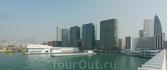 Вид на бухту Виктория от отеля Marco Polo HongKong...