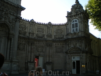 Дворец Долмабахче.