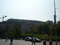 Вид на Братиславскую крепость