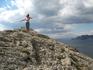Вершина горы Алчак  Кая. Я улетаю в Нирвану