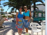 Моя подруга с Мальты. В отеле Эль Моради Клаб Эль Кантауи