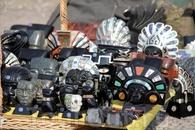 Сувениры в Теотиуакане.