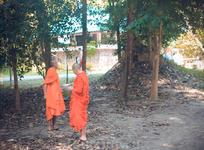 Манахи, стоявшие на территории Хот спринга