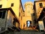 закатное солнце. старый город Херцег-Нови
