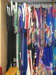 Разных кимоно предлагается на выбор ОГРОМНОЕ количество. На фото примерно третья часть.