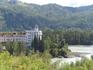 район подвесного моста к оз.Ая, вид на территорию отеля