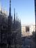 На Миланский собор можно подняться. Вид сверху просто восхитителен