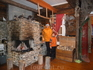 Этому дому на оленьей ферме 400 лет.И тут выросло не одно поколение оленеводов.