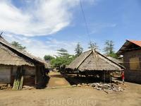 деревня местных жителей